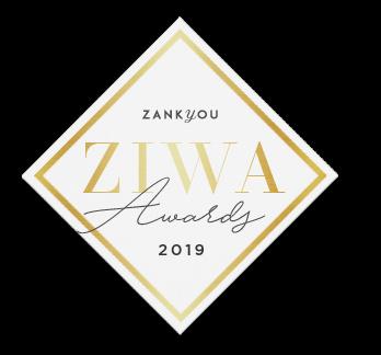Prémio ZIWA Awards Zankyou atribuído à Ideia Genial, especialista em convites de casamento personalizados e datas especiais.
