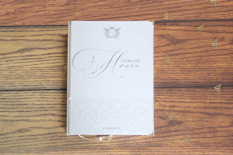 Livro de honra de casamento