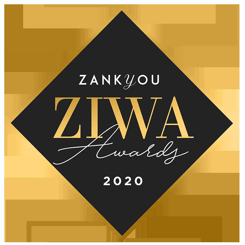 Prémio ZIWA Awards da Zankyou atribuído à Ideia Genial, especialista em convites de casamento personalizados.